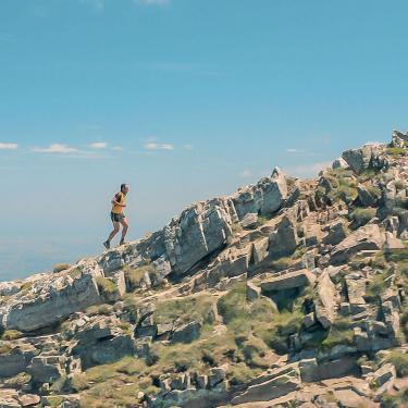 Trail au Canigou